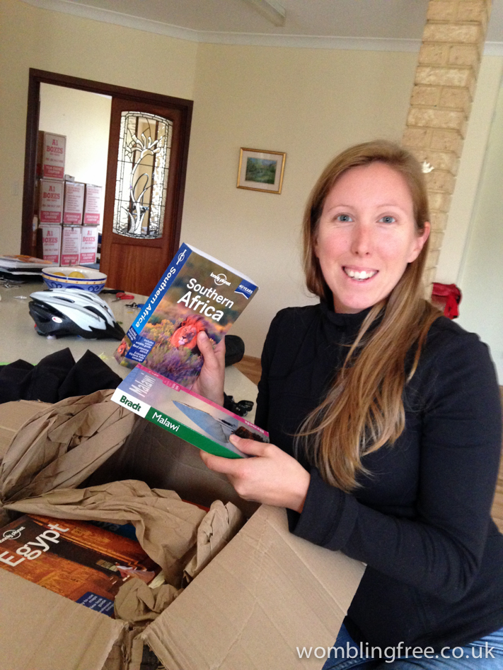 Pleased to see our Africa guides have arrived.